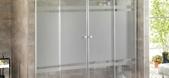 Mamparas de ba�o de aluminio y cristal en Espa�a
